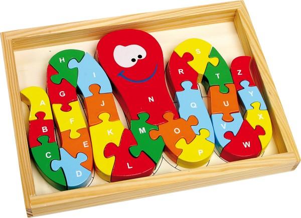 Legler, ABC-Puzzle, Tintenfisch, 26, Teile, 4020972079183, 7918