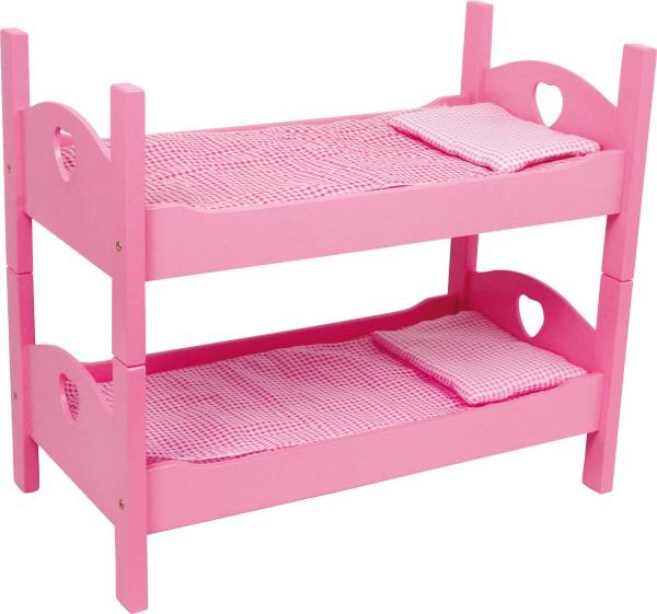 Legler, Etagenbett, für, Puppen, pink, 4020972028716, 2871