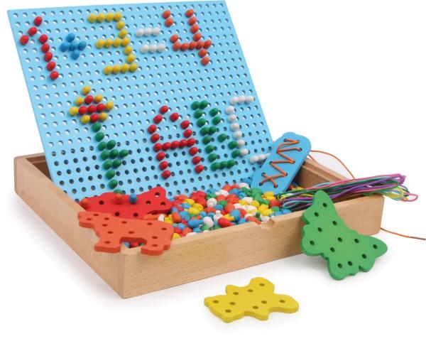 Legler, Steck-, Fädelpuzzle, 360, Teile, 4020972068620, 6862