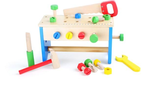 Legler, Werkzeugkasten, und, Werkbank, 2, in, 14020972100528, 10052