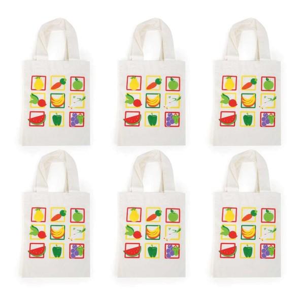 Legler, Einkaufstasche, Gemüse, 6er, Set4020972100399, 10039
